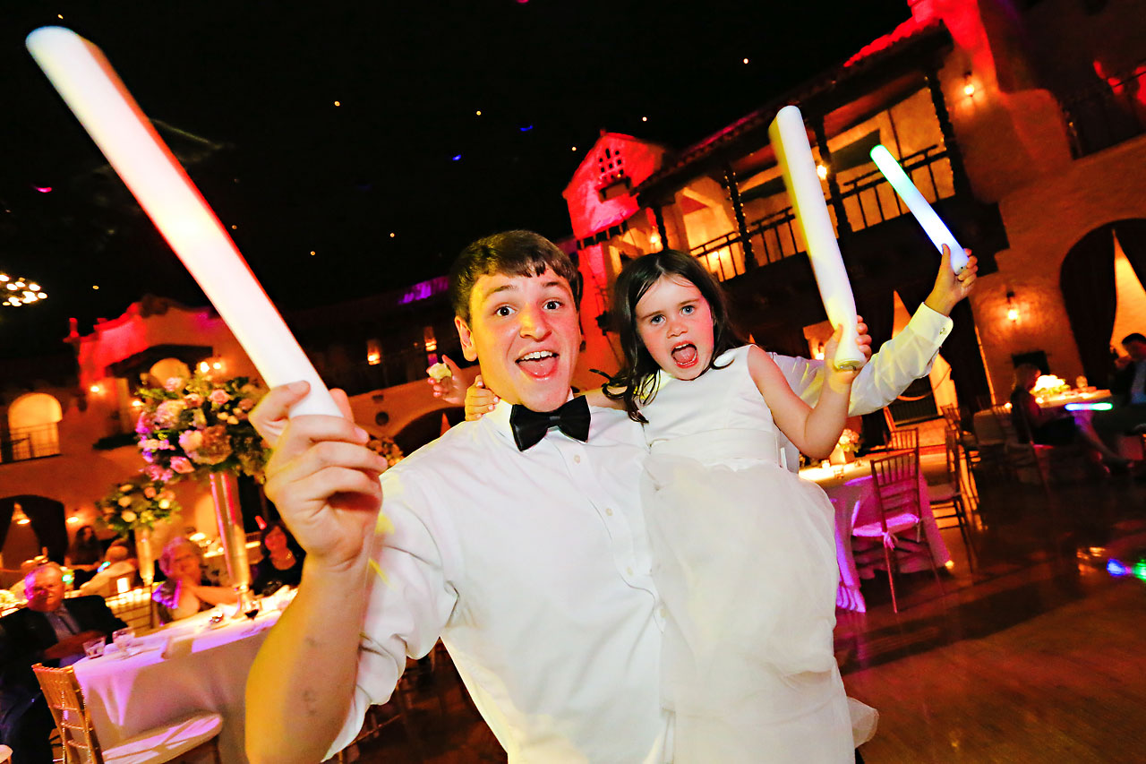 272 Vanessa Dustin Indiana Roof Ballroom Wedding