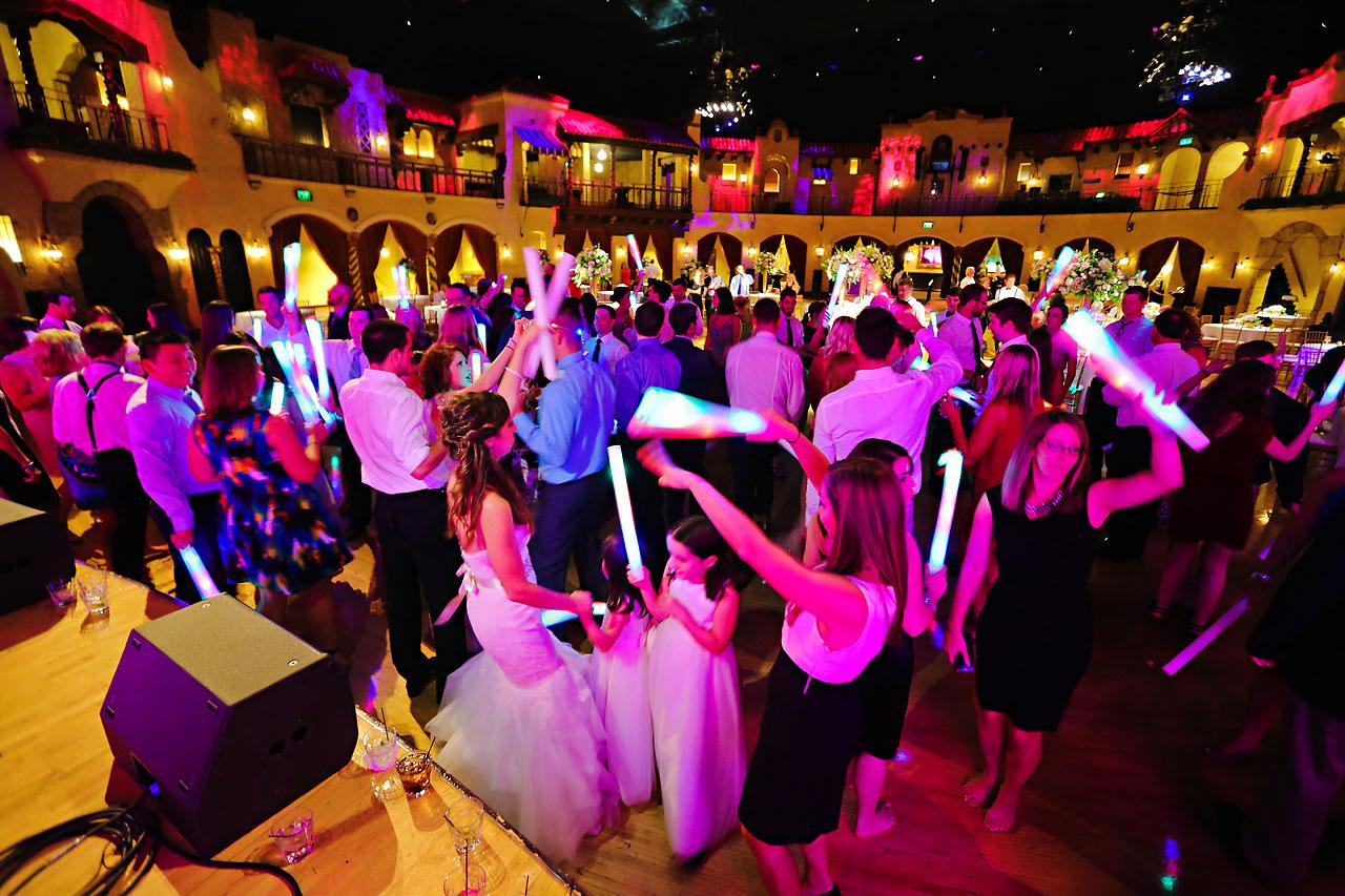 274 Vanessa Dustin Indiana Roof Ballroom Wedding