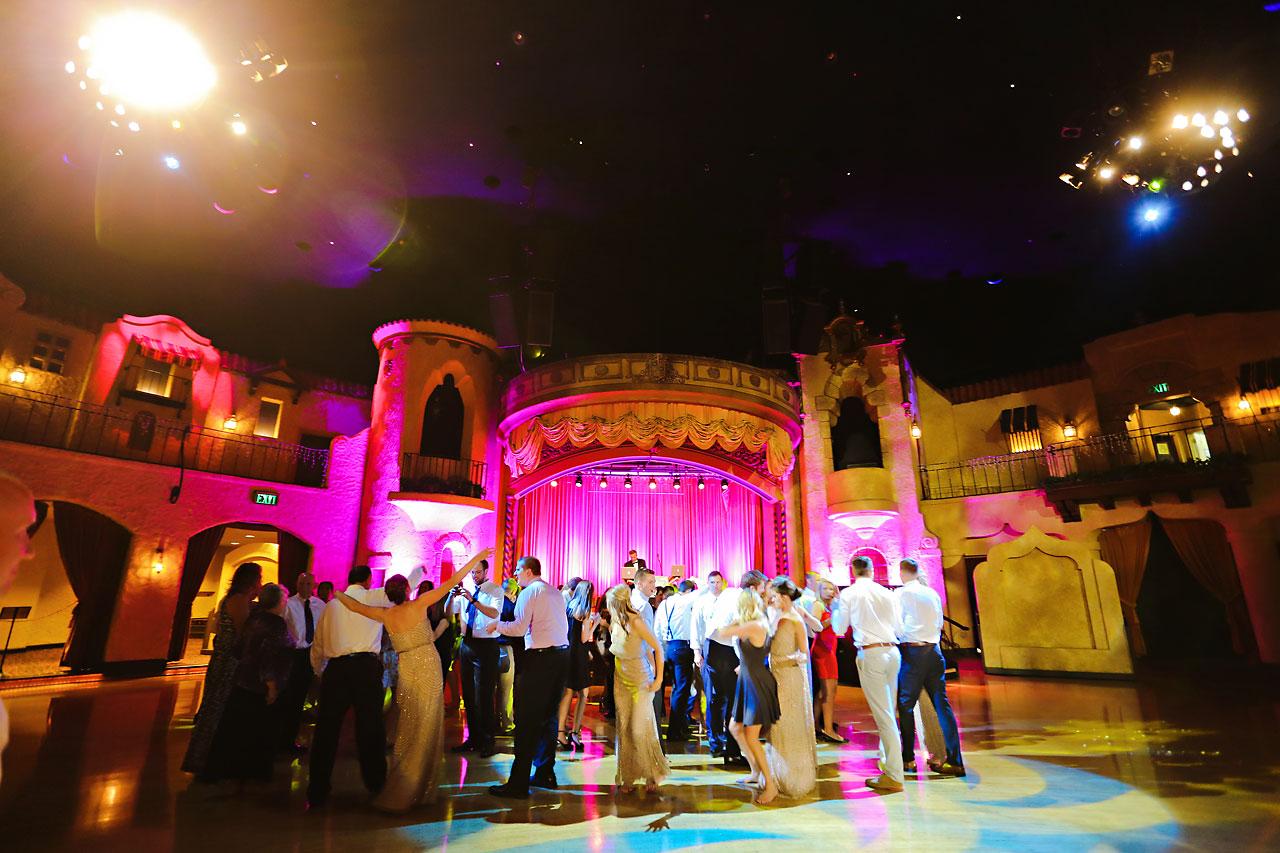 269 Vanessa Dustin Indiana Roof Ballroom Wedding