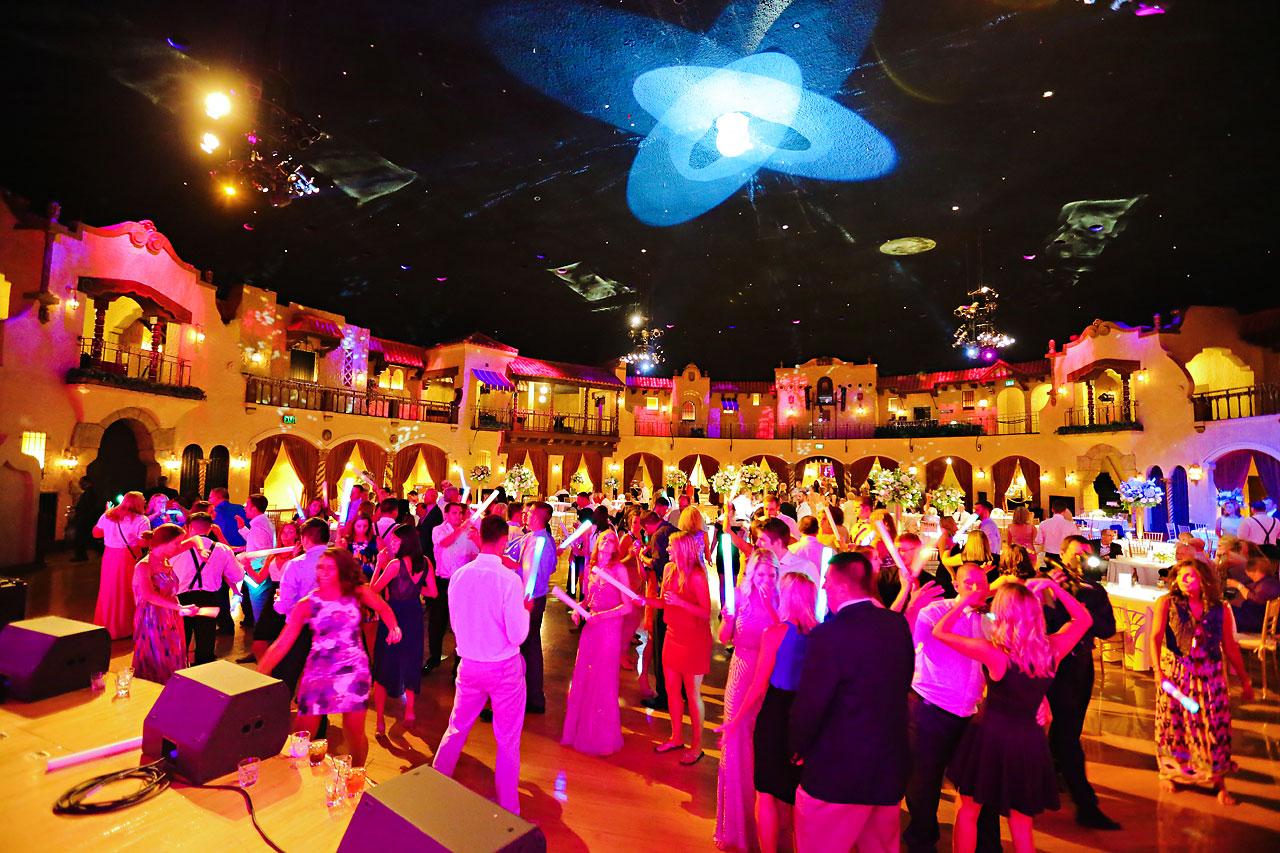 271 Vanessa Dustin Indiana Roof Ballroom Wedding