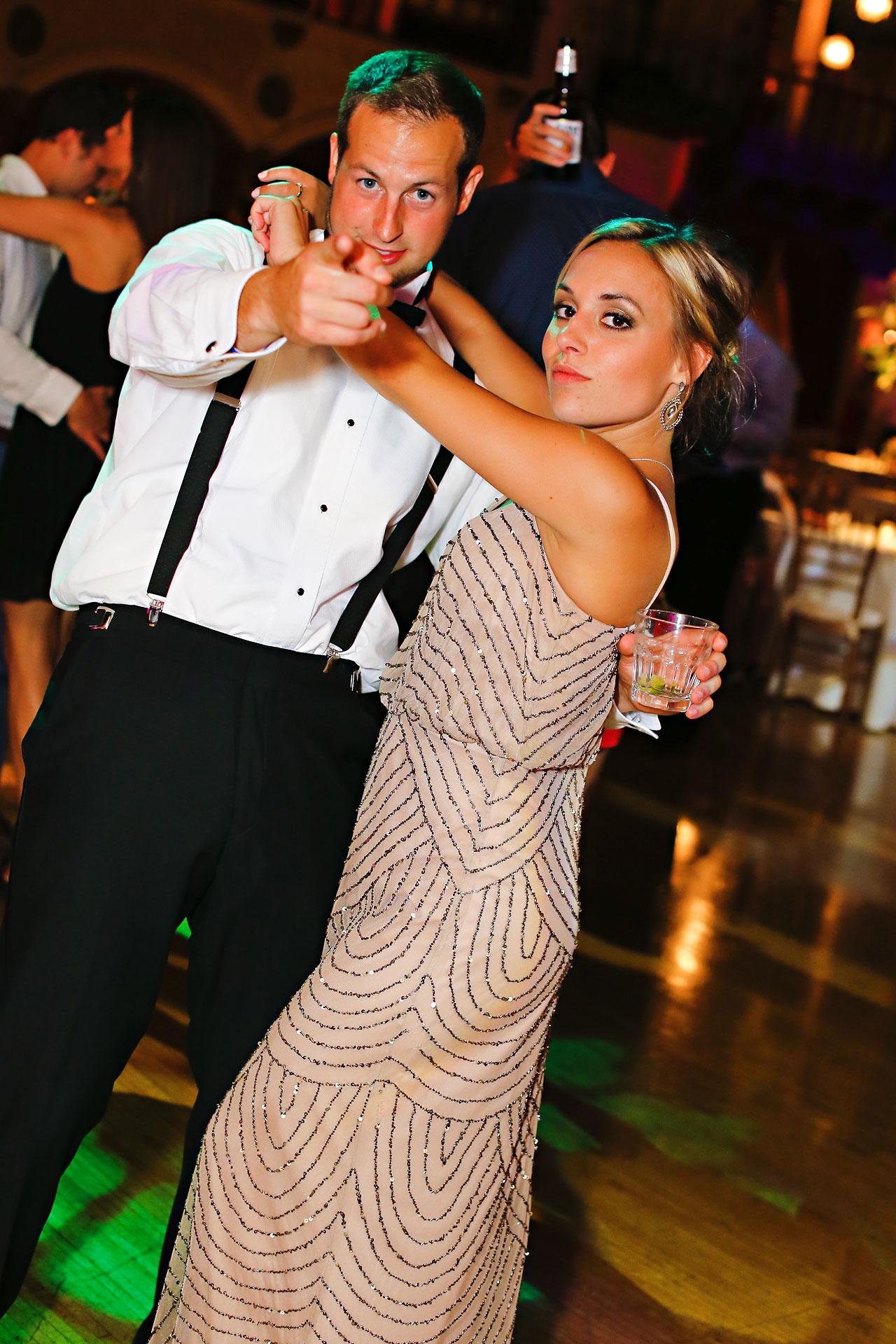 266 Vanessa Dustin Indiana Roof Ballroom Wedding