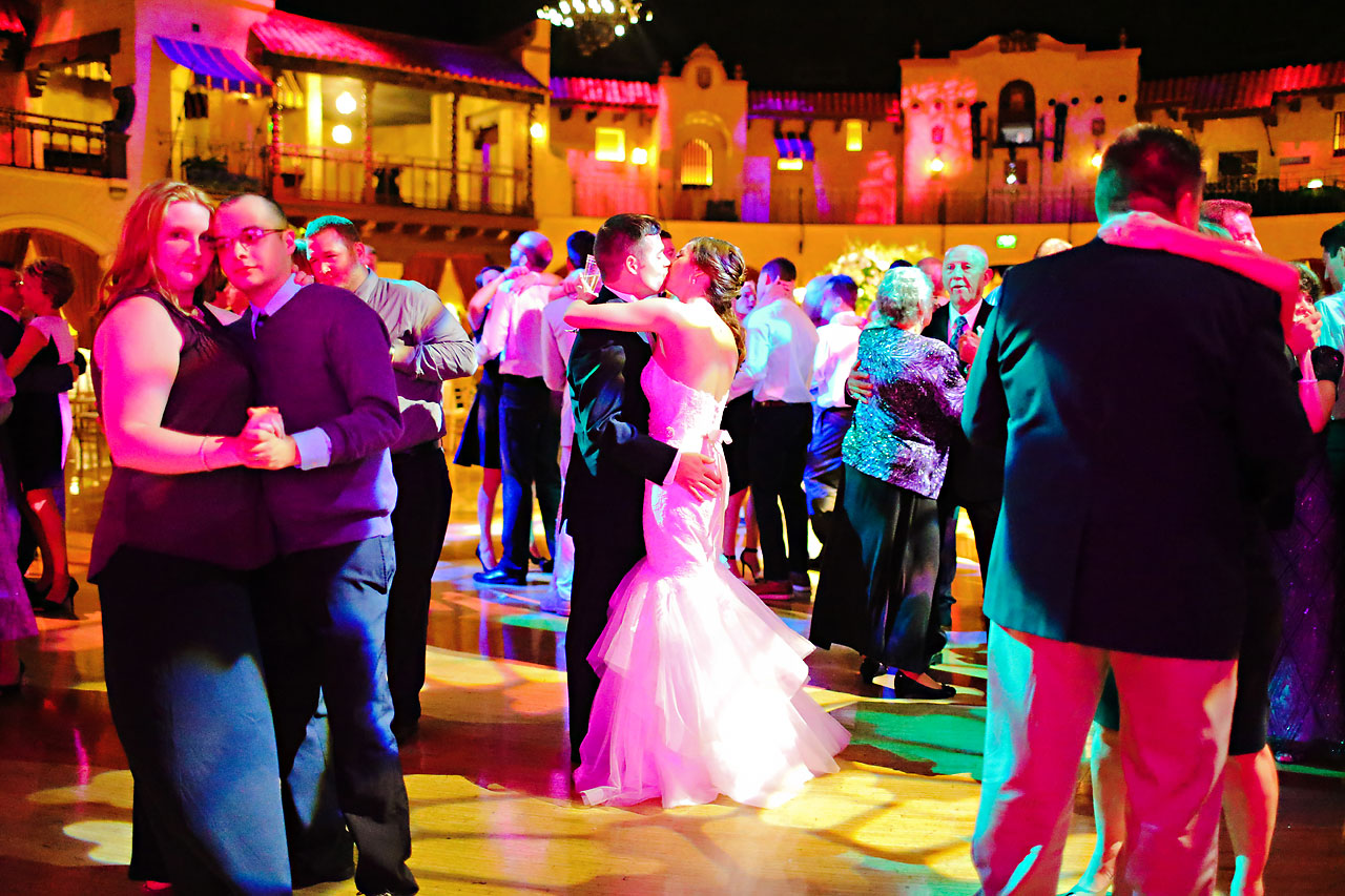 261 Vanessa Dustin Indiana Roof Ballroom Wedding