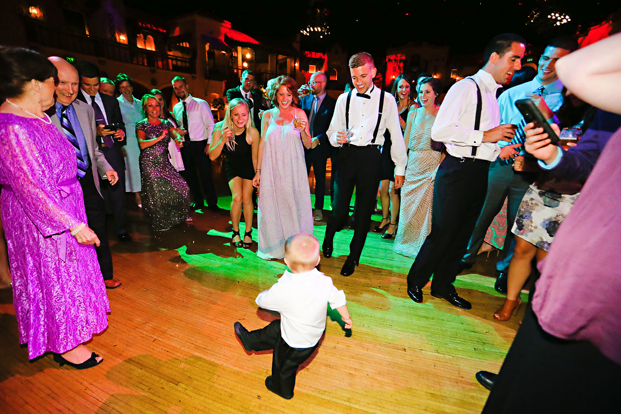 259 Vanessa Dustin Indiana Roof Ballroom Wedding