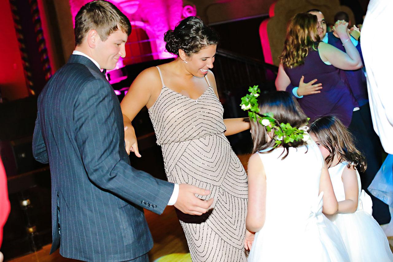254 Vanessa Dustin Indiana Roof Ballroom Wedding