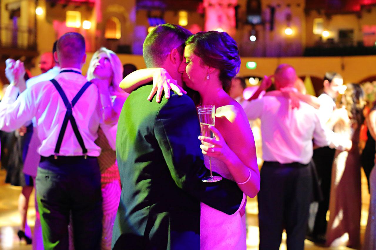 252 Vanessa Dustin Indiana Roof Ballroom Wedding