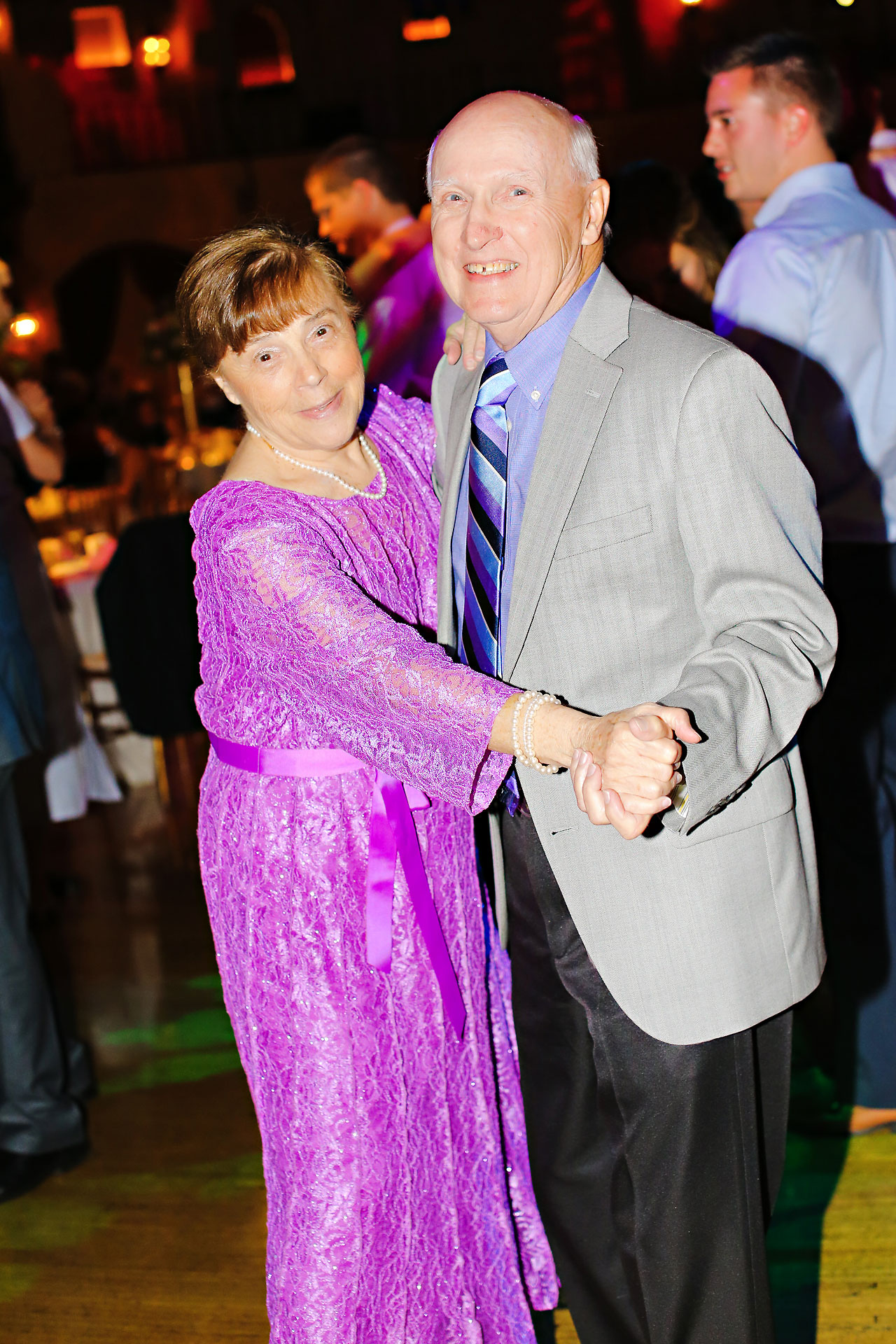 249 Vanessa Dustin Indiana Roof Ballroom Wedding