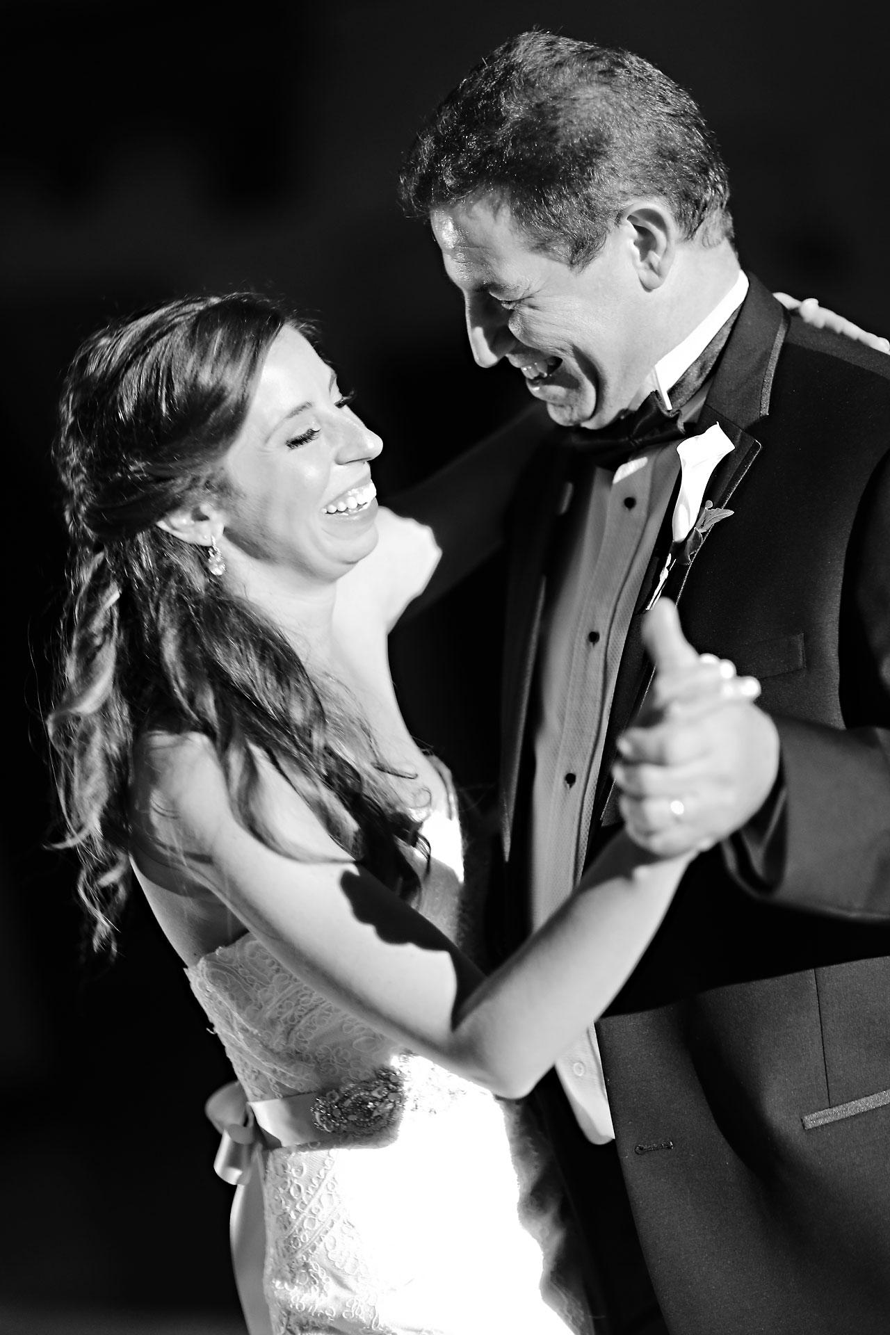 243 Vanessa Dustin Indiana Roof Ballroom Wedding