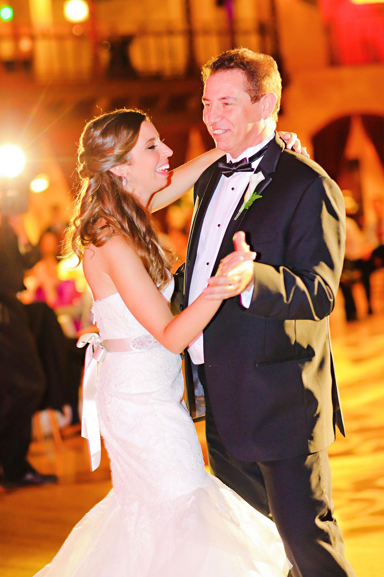 244 Vanessa Dustin Indiana Roof Ballroom Wedding