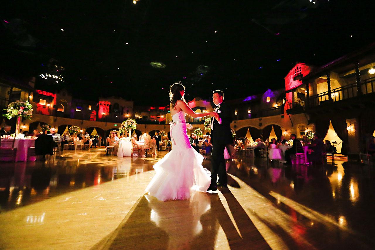 241 Vanessa Dustin Indiana Roof Ballroom Wedding