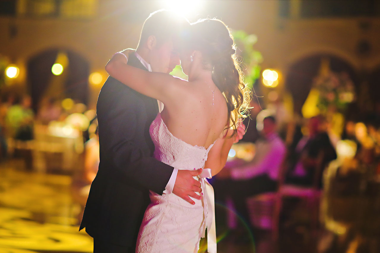 236 Vanessa Dustin Indiana Roof Ballroom Wedding
