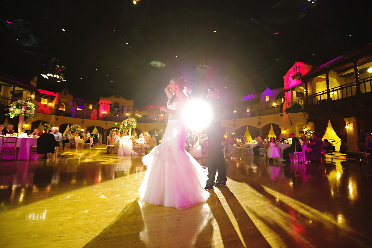 238 Vanessa Dustin Indiana Roof Ballroom Wedding