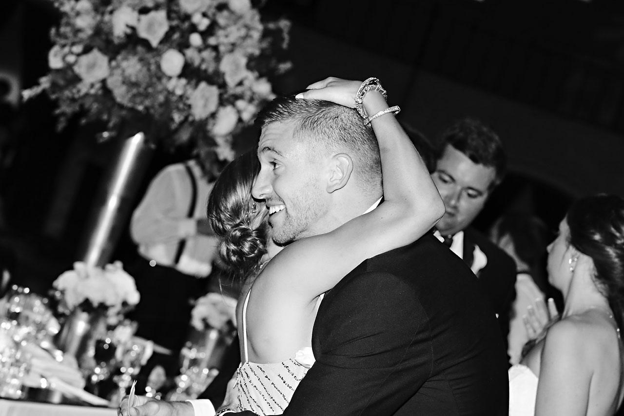 231 Vanessa Dustin Indiana Roof Ballroom Wedding
