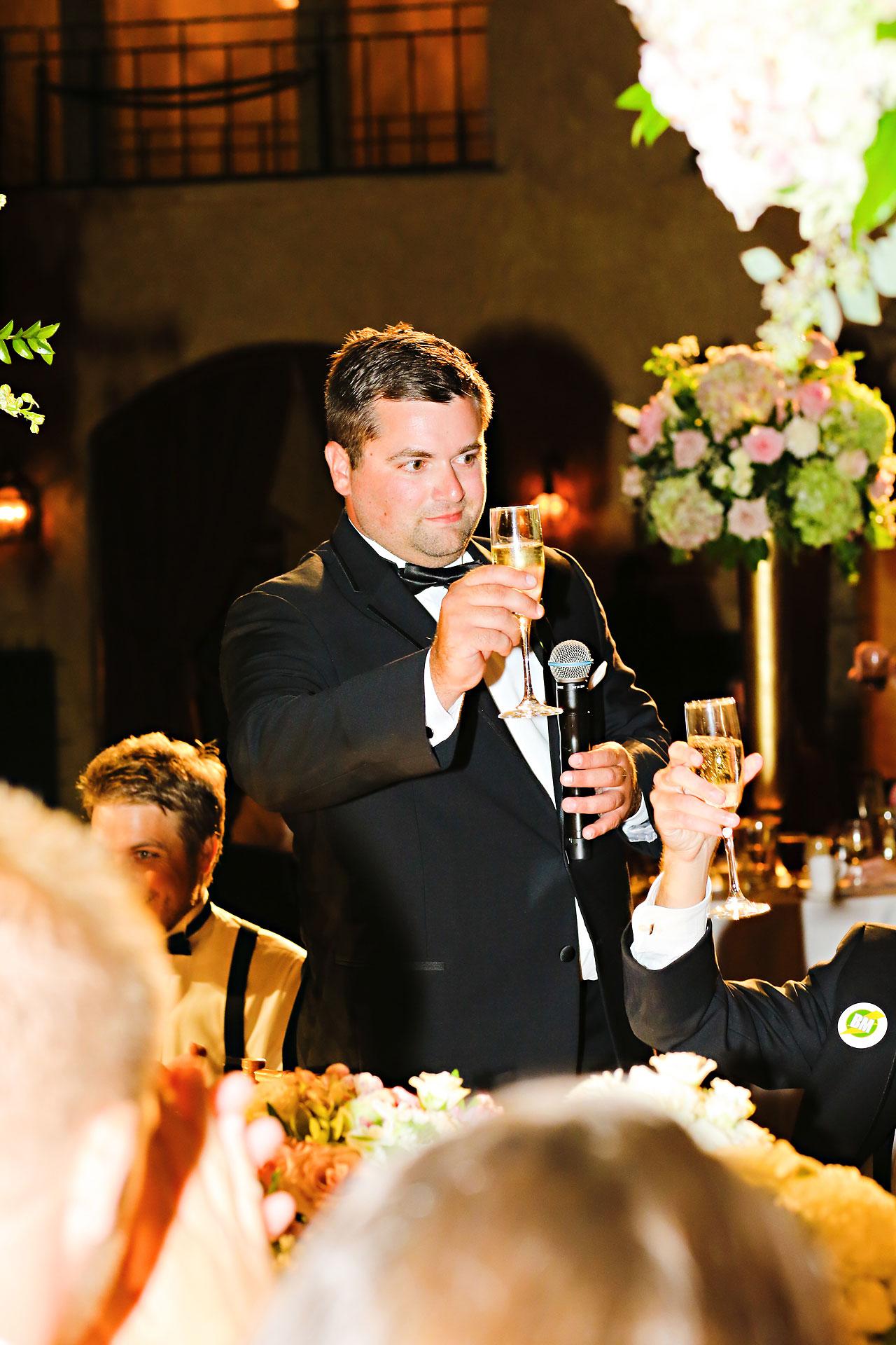 227 Vanessa Dustin Indiana Roof Ballroom Wedding