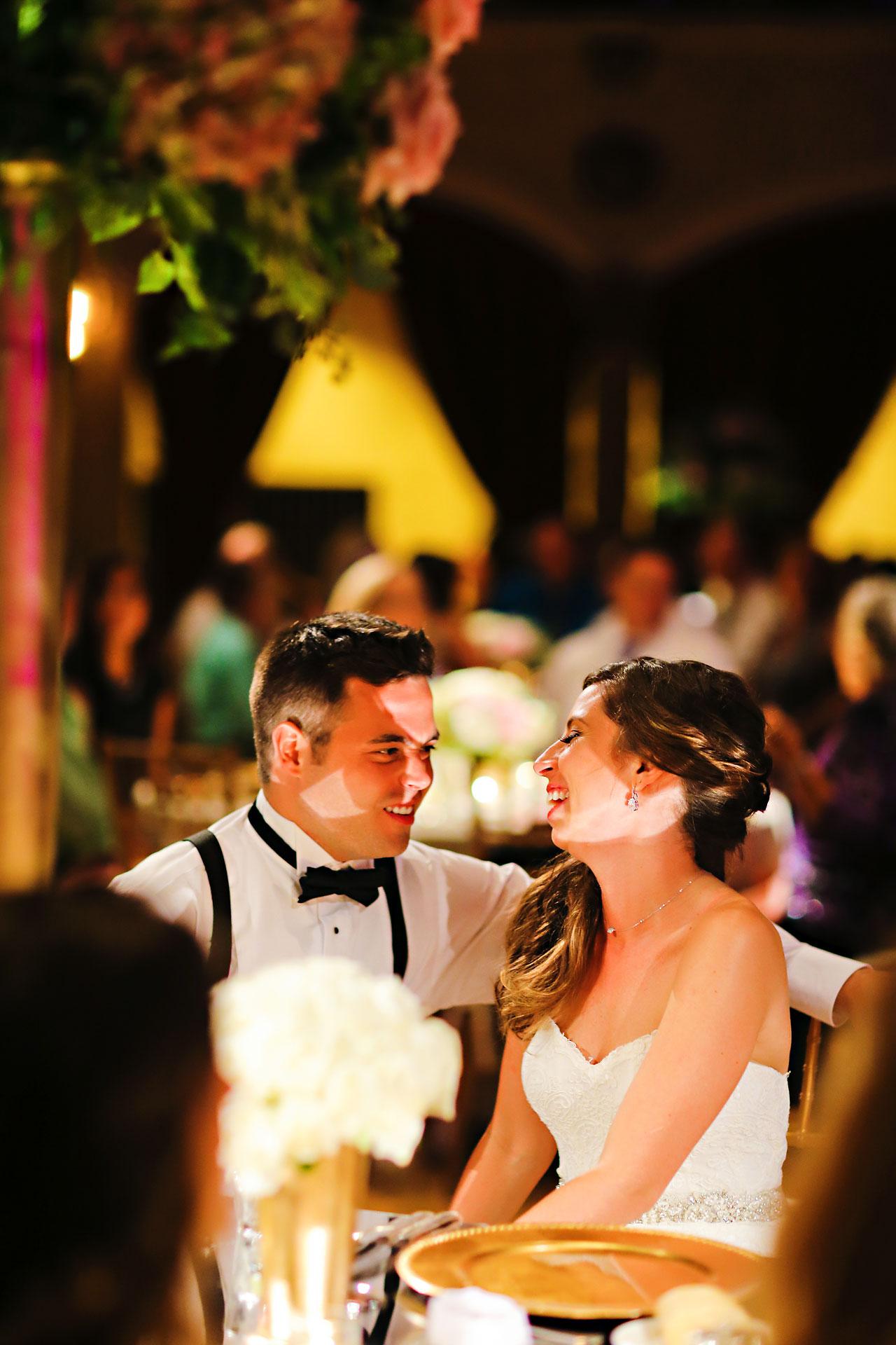 224 Vanessa Dustin Indiana Roof Ballroom Wedding