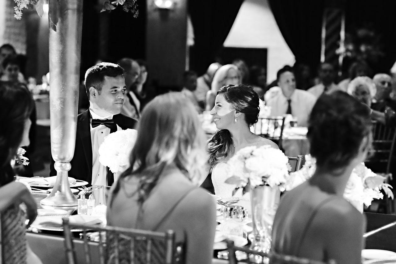 225 Vanessa Dustin Indiana Roof Ballroom Wedding