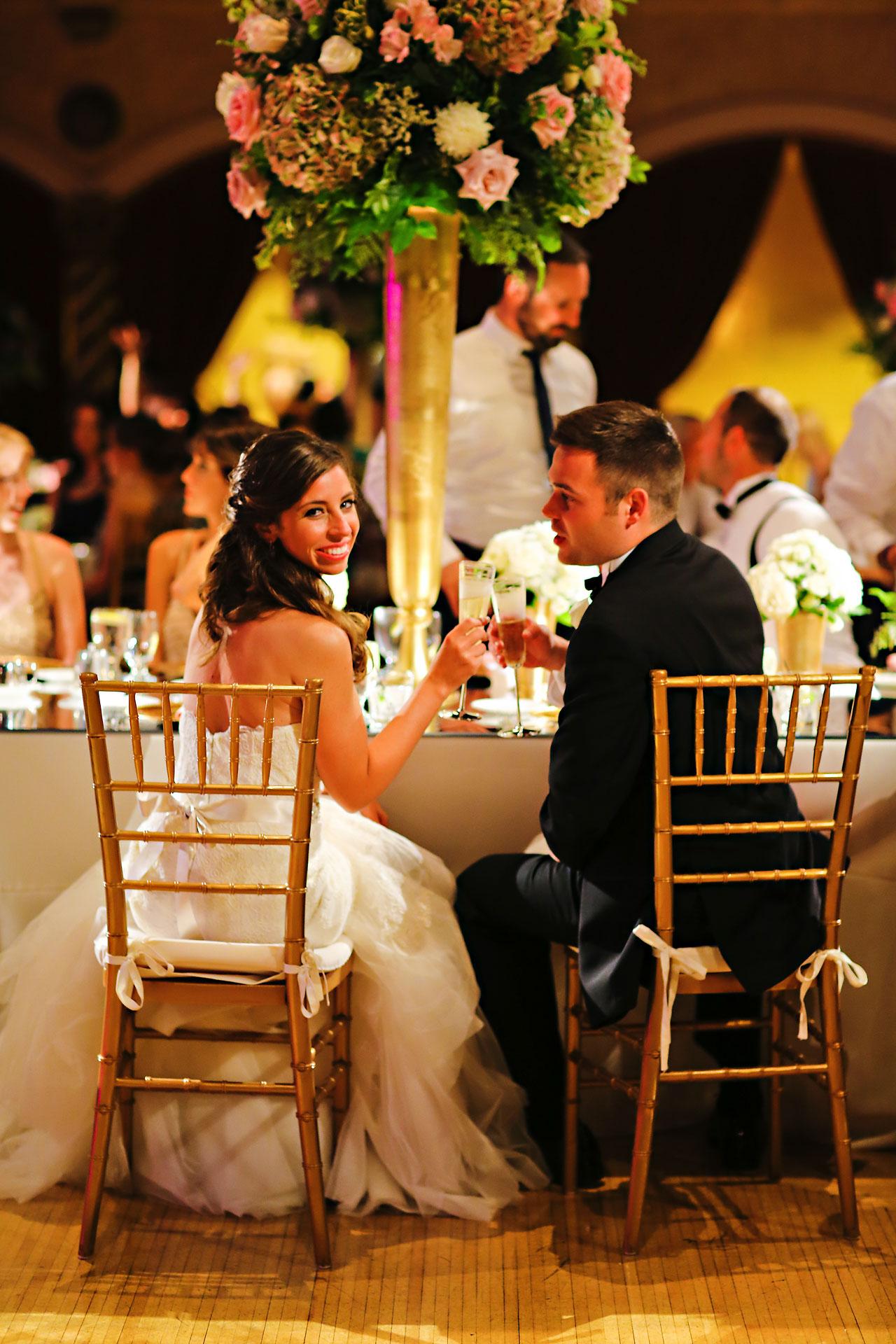 216 Vanessa Dustin Indiana Roof Ballroom Wedding