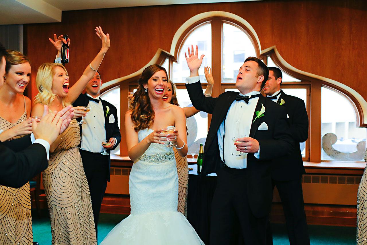 203 Vanessa Dustin Indiana Roof Ballroom Wedding