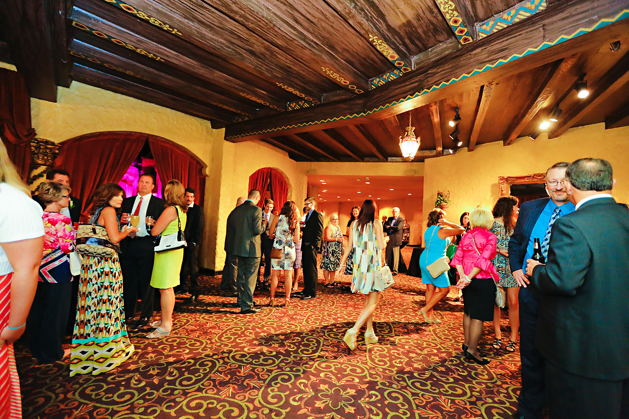194 Vanessa Dustin Indiana Roof Ballroom Wedding