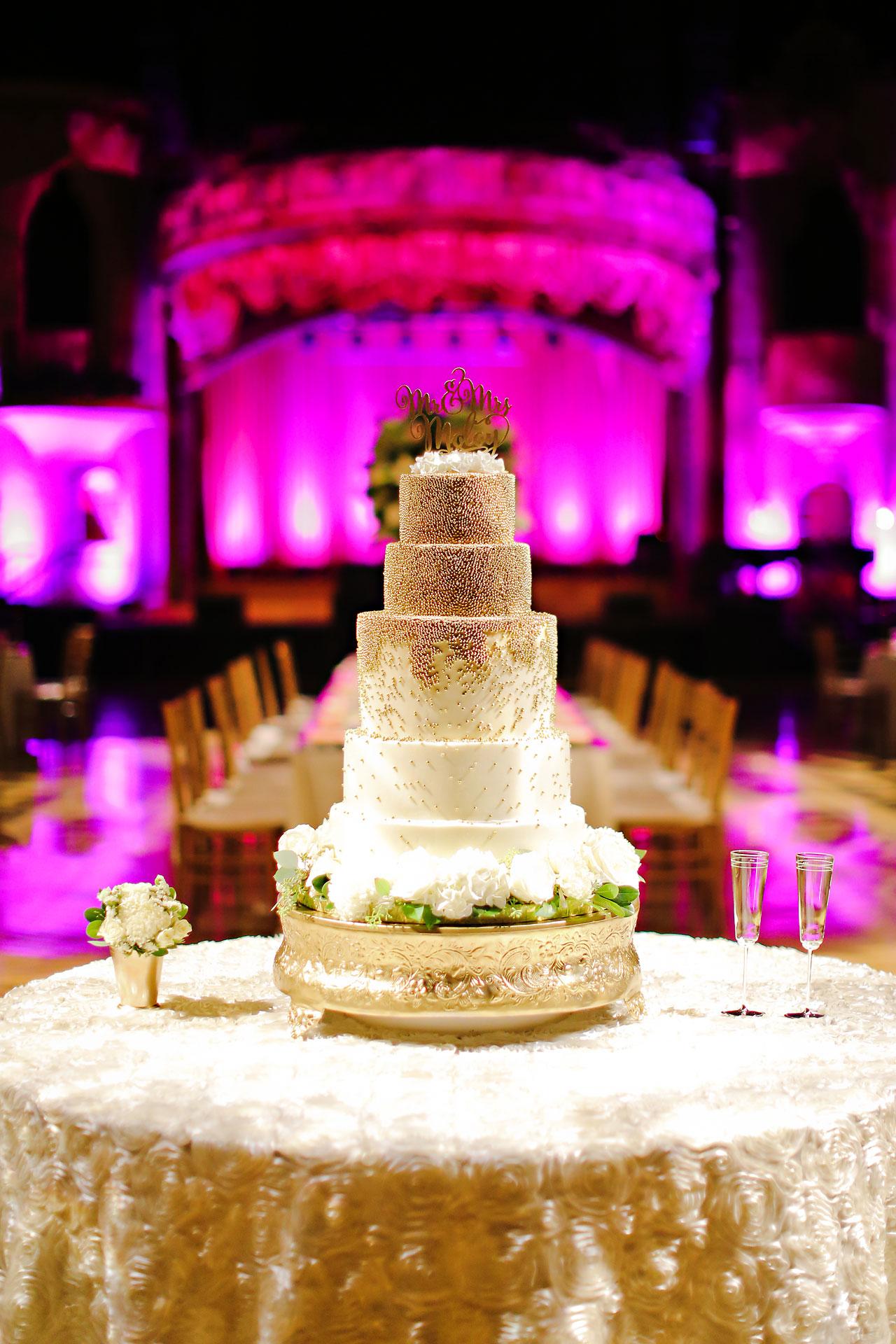 190 Vanessa Dustin Indiana Roof Ballroom Wedding