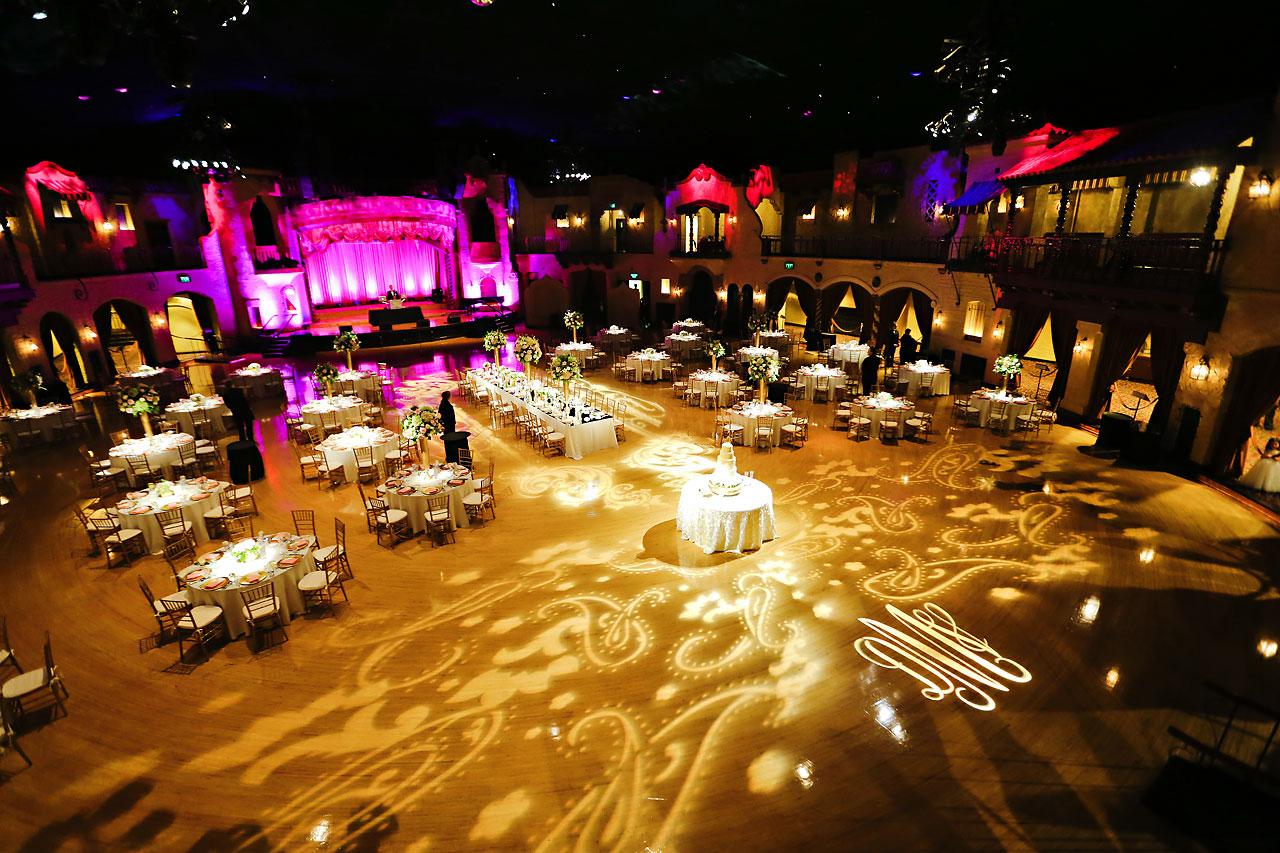 186 Vanessa Dustin Indiana Roof Ballroom Wedding