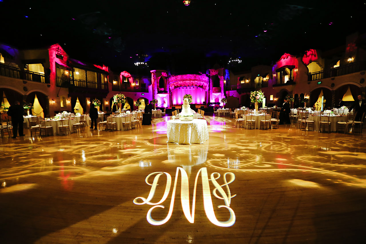 187 Vanessa Dustin Indiana Roof Ballroom Wedding