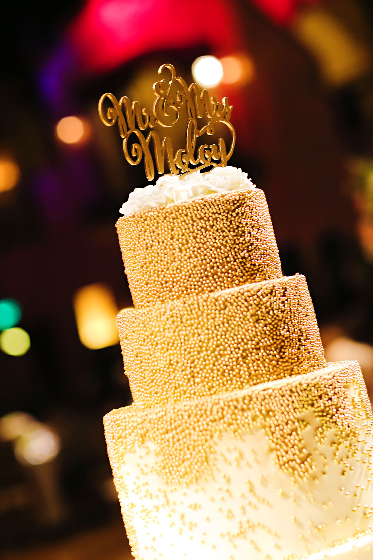 182 Vanessa Dustin Indiana Roof Ballroom Wedding