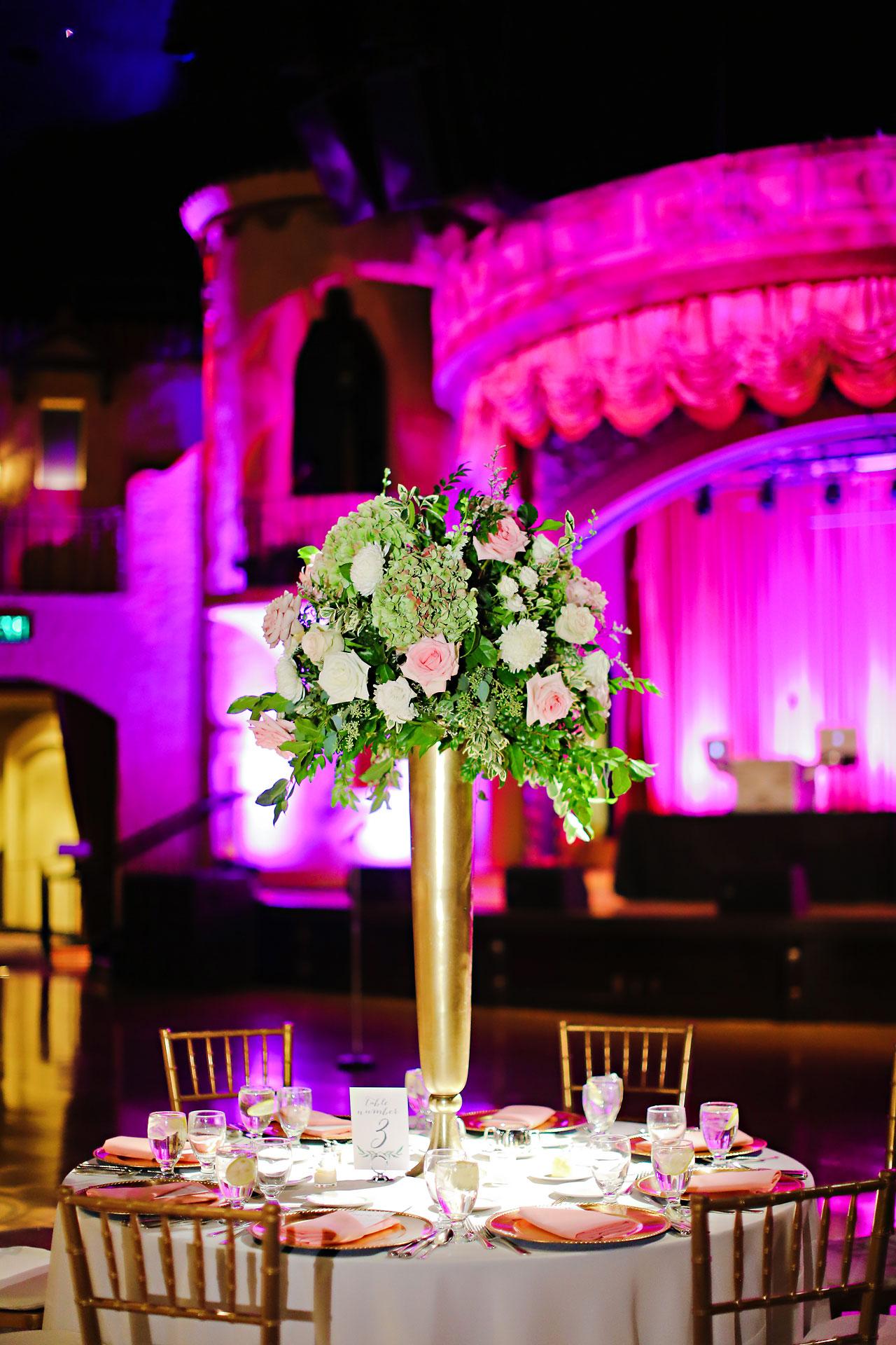 183 Vanessa Dustin Indiana Roof Ballroom Wedding