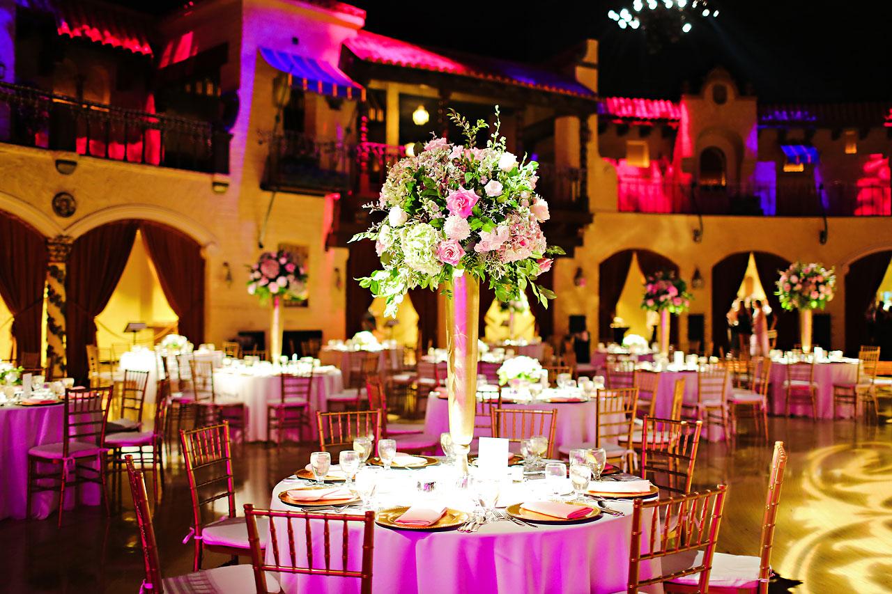 179 Vanessa Dustin Indiana Roof Ballroom Wedding