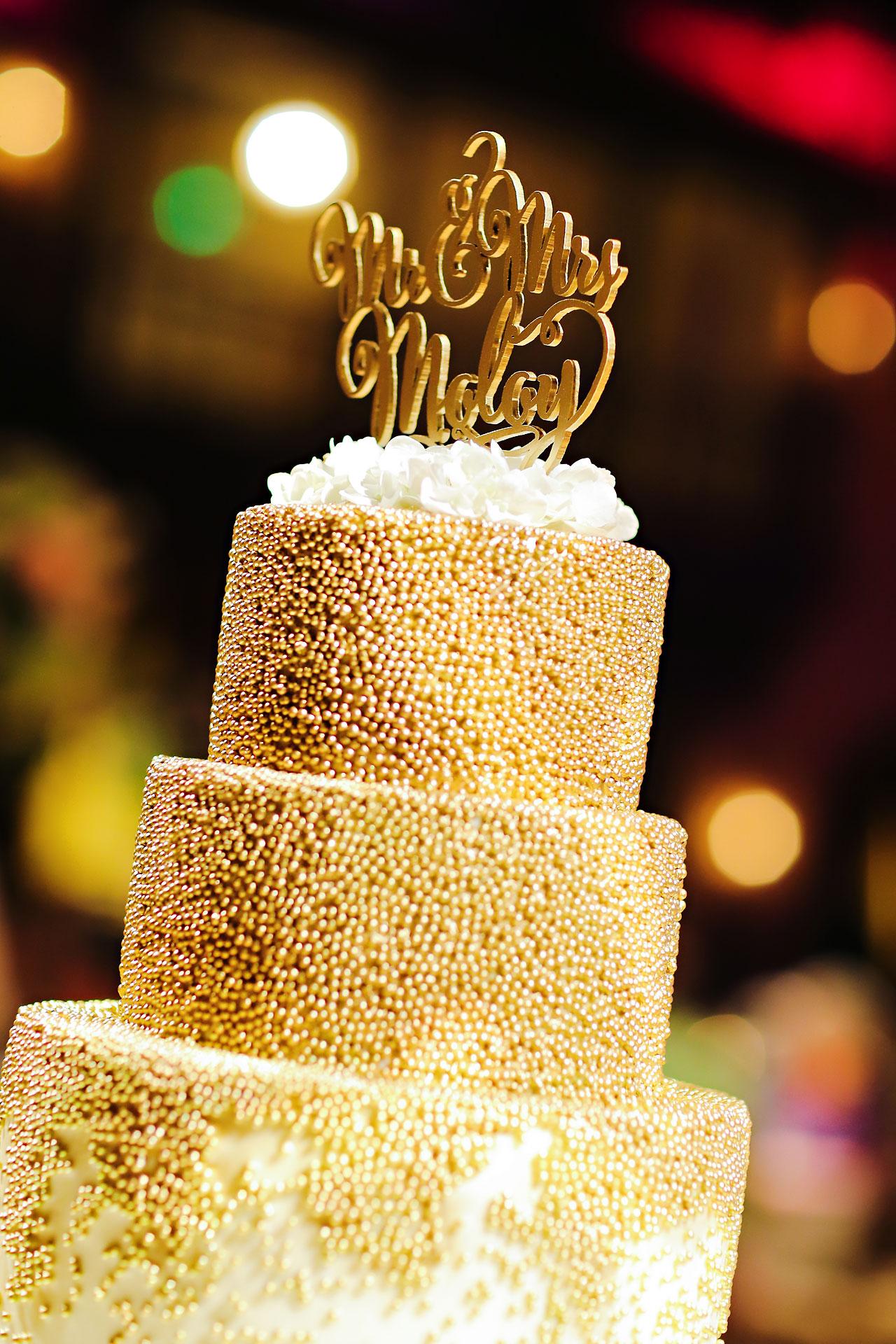 176 Vanessa Dustin Indiana Roof Ballroom Wedding