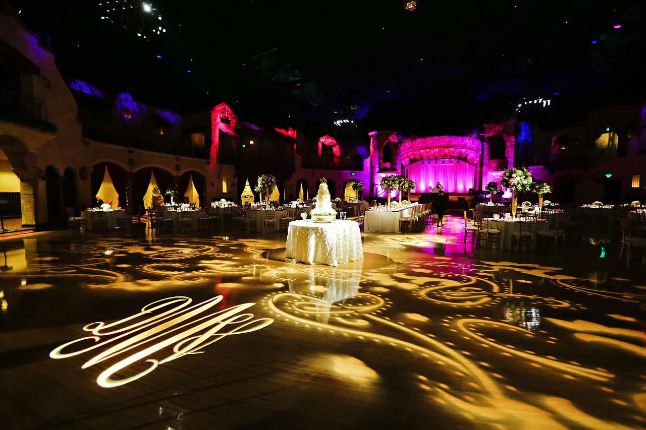 177 Vanessa Dustin Indiana Roof Ballroom Wedding