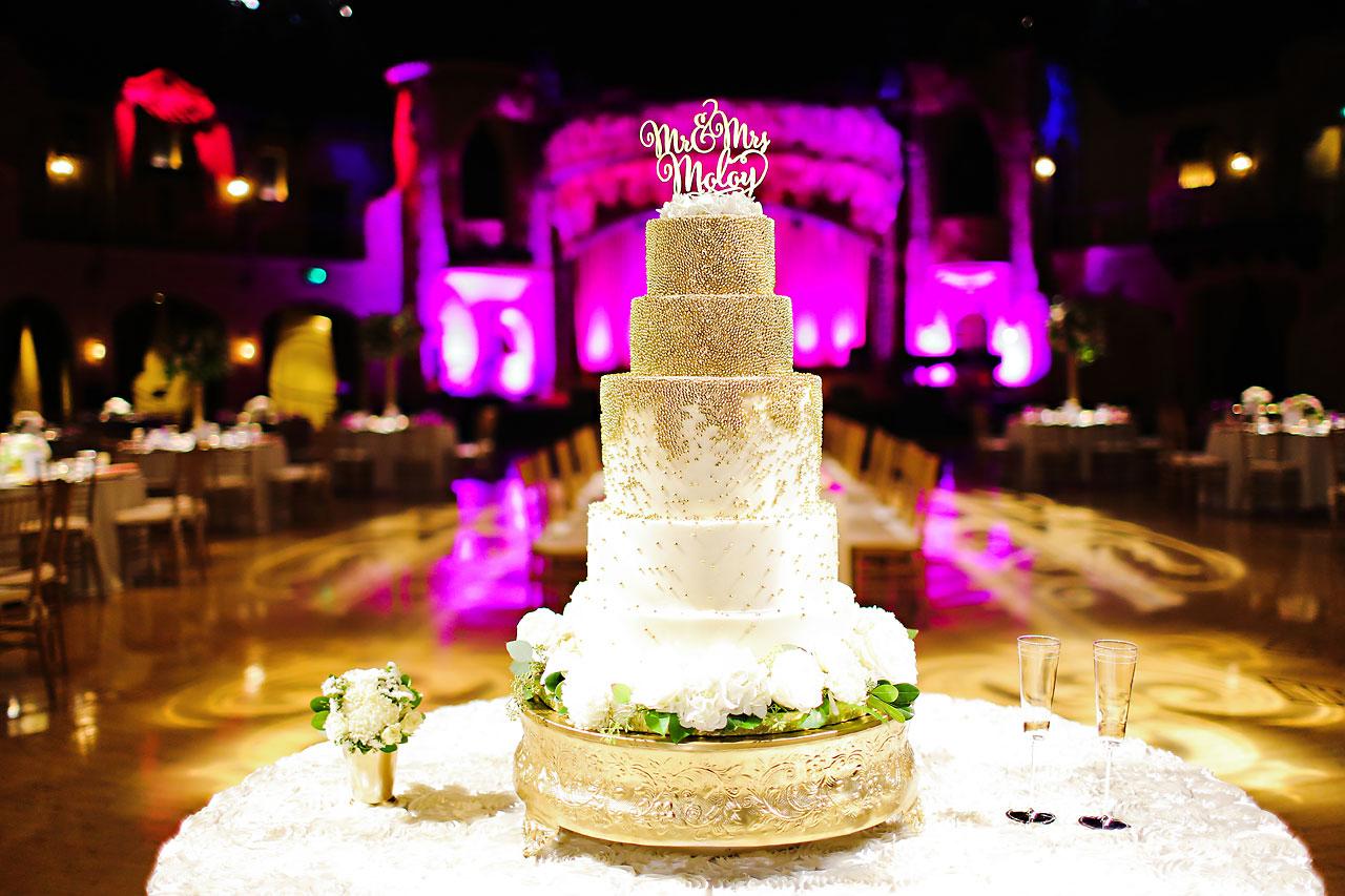 178 Vanessa Dustin Indiana Roof Ballroom Wedding