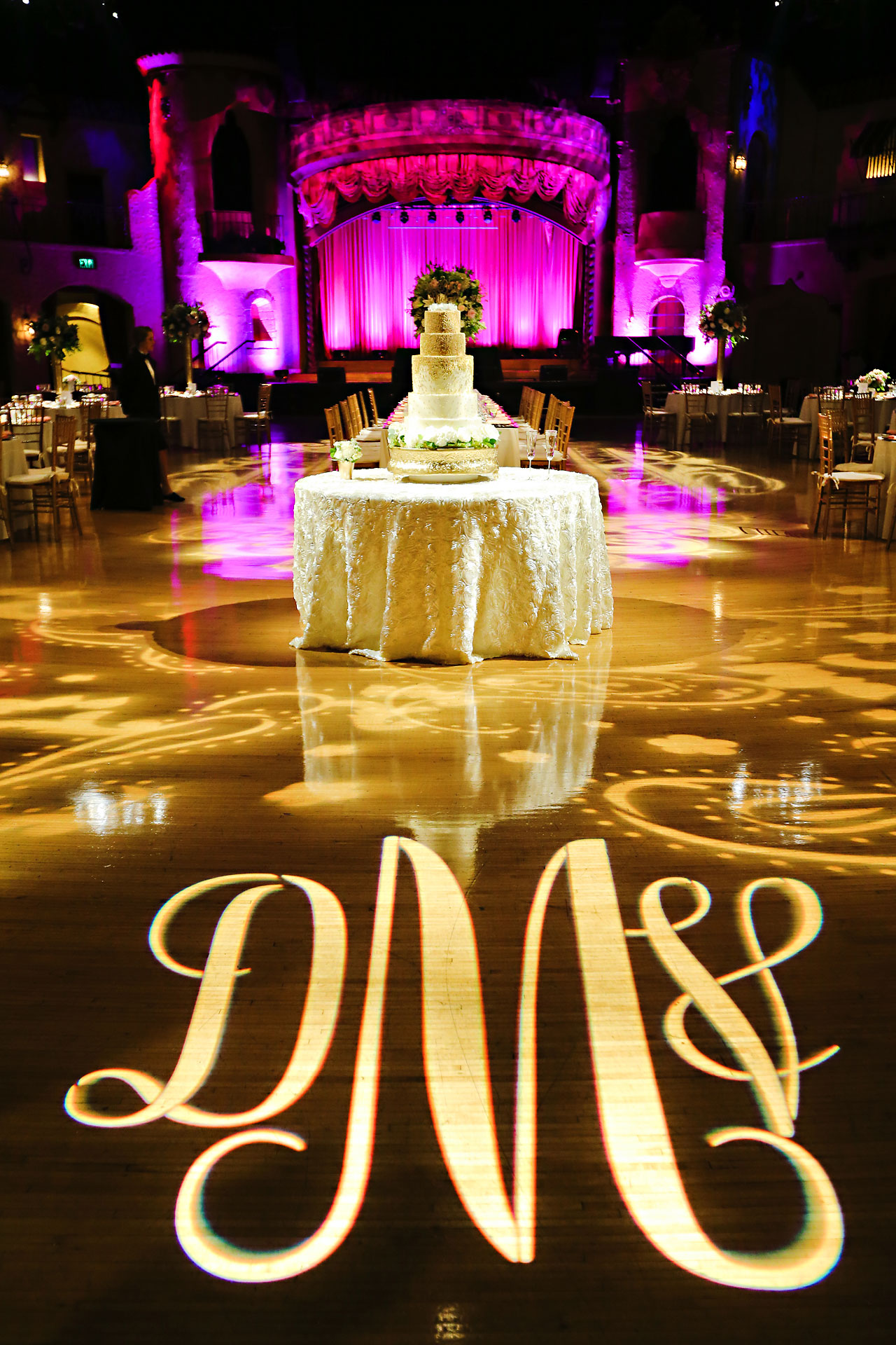 174 Vanessa Dustin Indiana Roof Ballroom Wedding