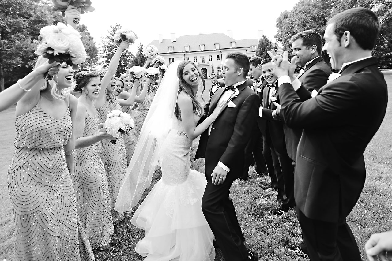 172 Vanessa Dustin Indiana Roof Ballroom Wedding