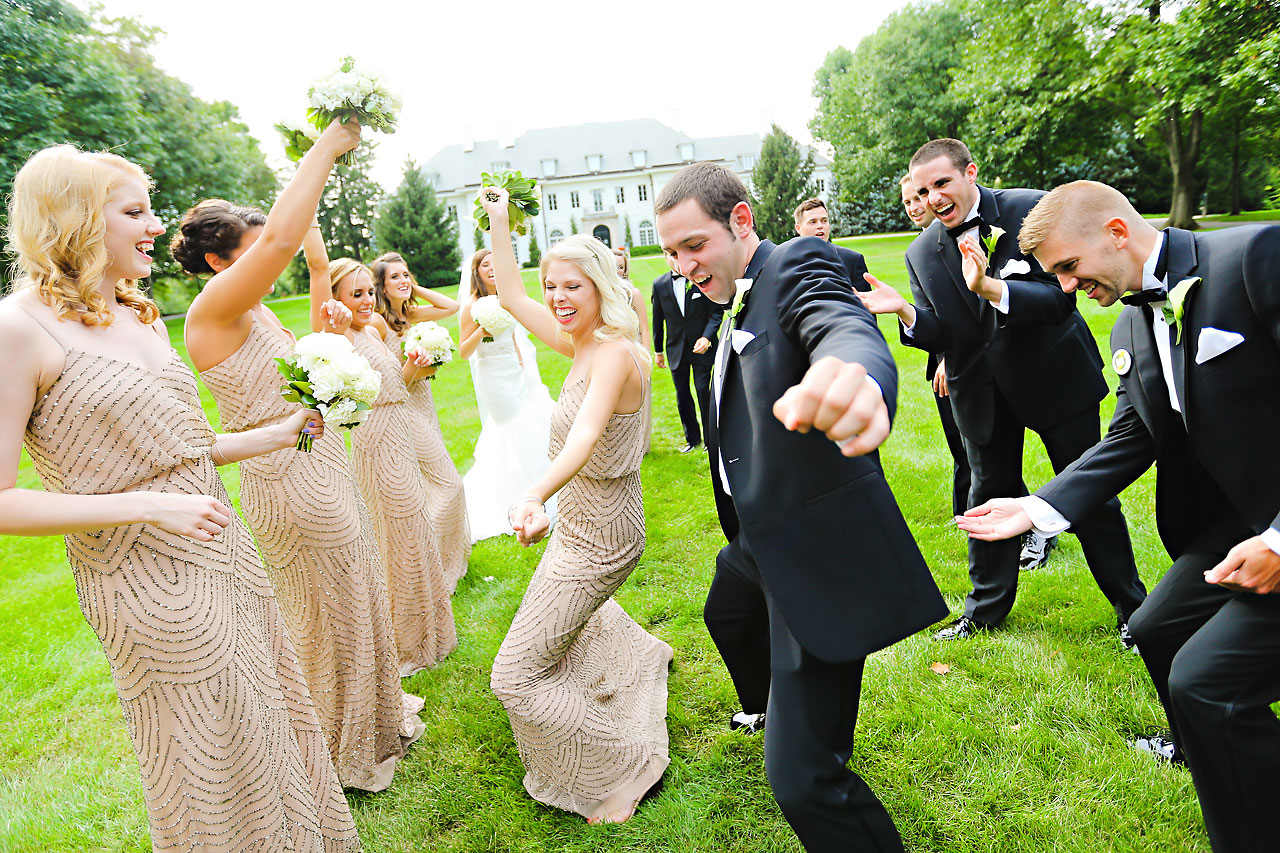 170 Vanessa Dustin Indiana Roof Ballroom Wedding