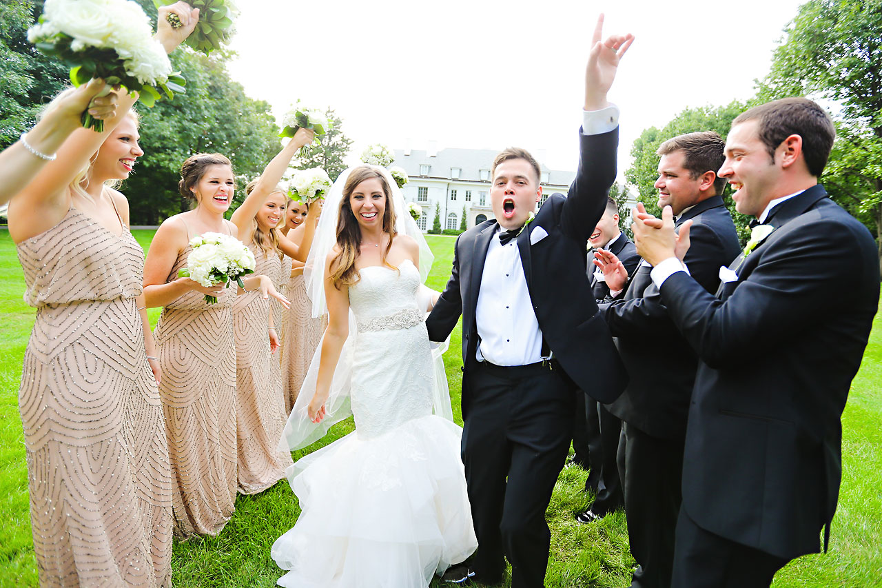166 Vanessa Dustin Indiana Roof Ballroom Wedding