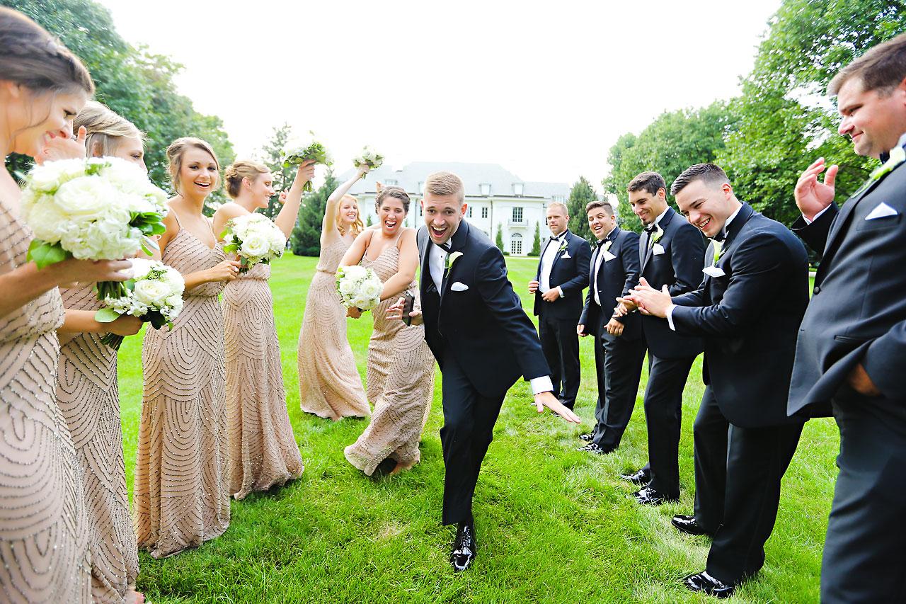167 Vanessa Dustin Indiana Roof Ballroom Wedding