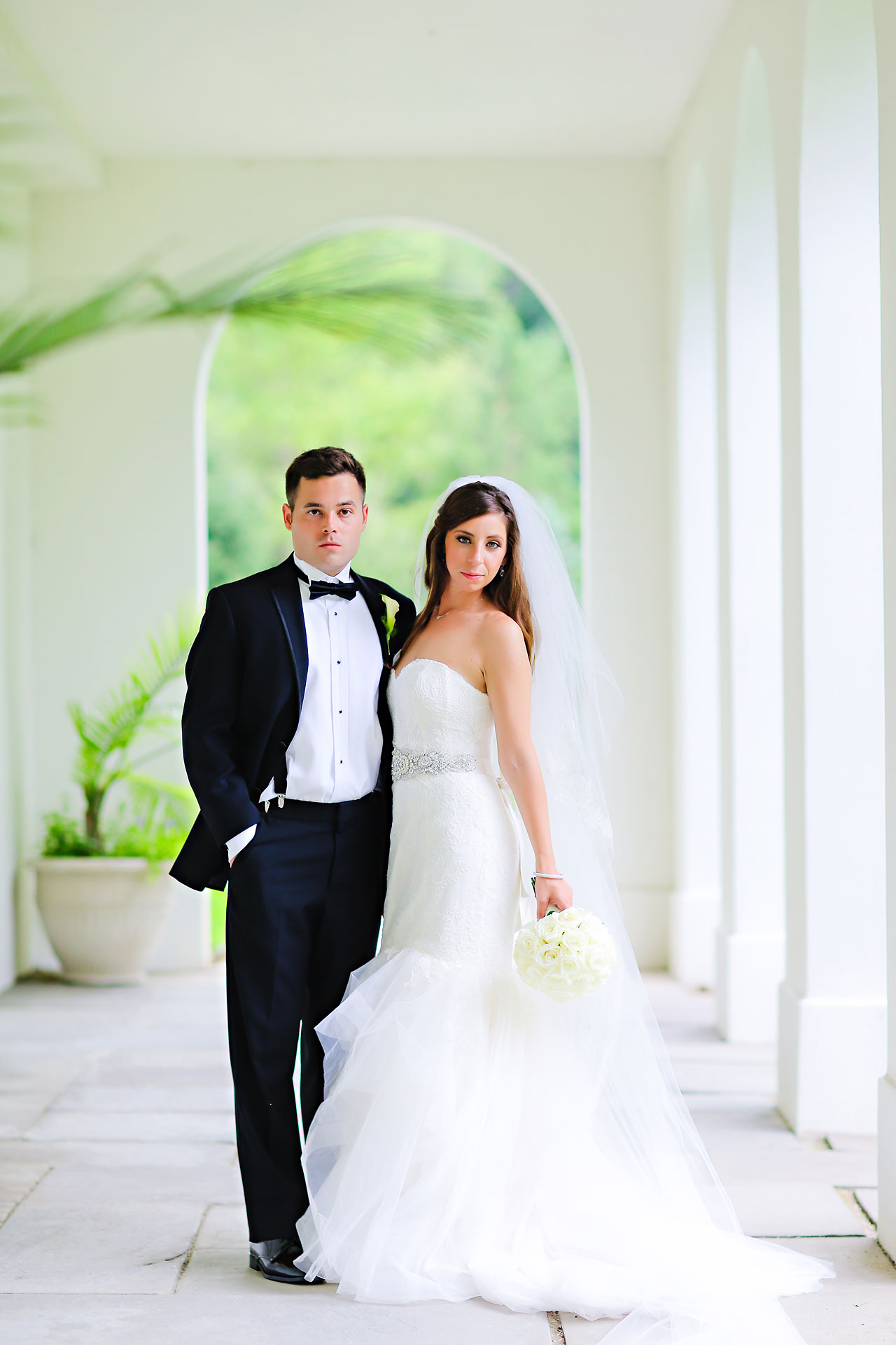 160 Vanessa Dustin Indiana Roof Ballroom Wedding