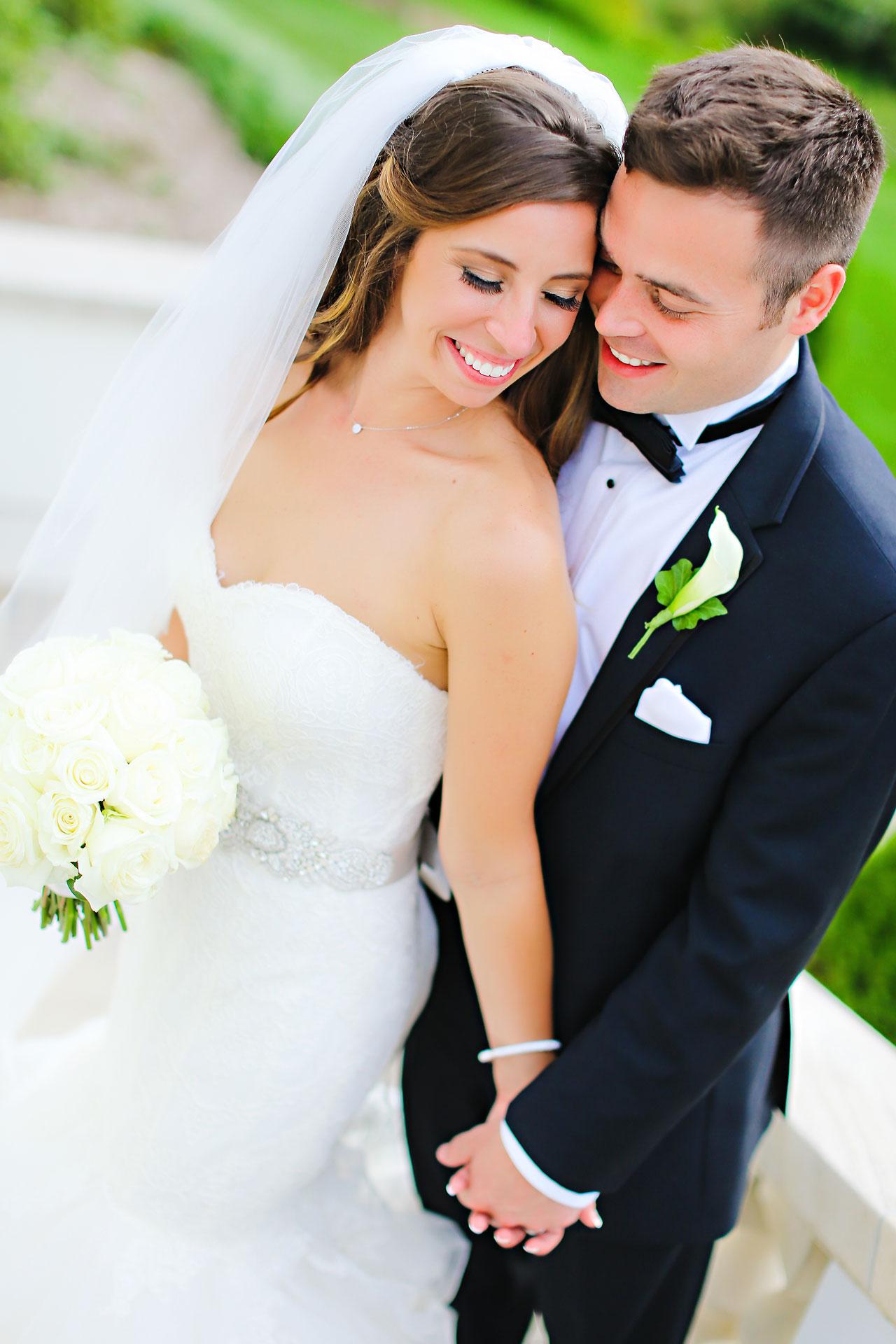 156 Vanessa Dustin Indiana Roof Ballroom Wedding