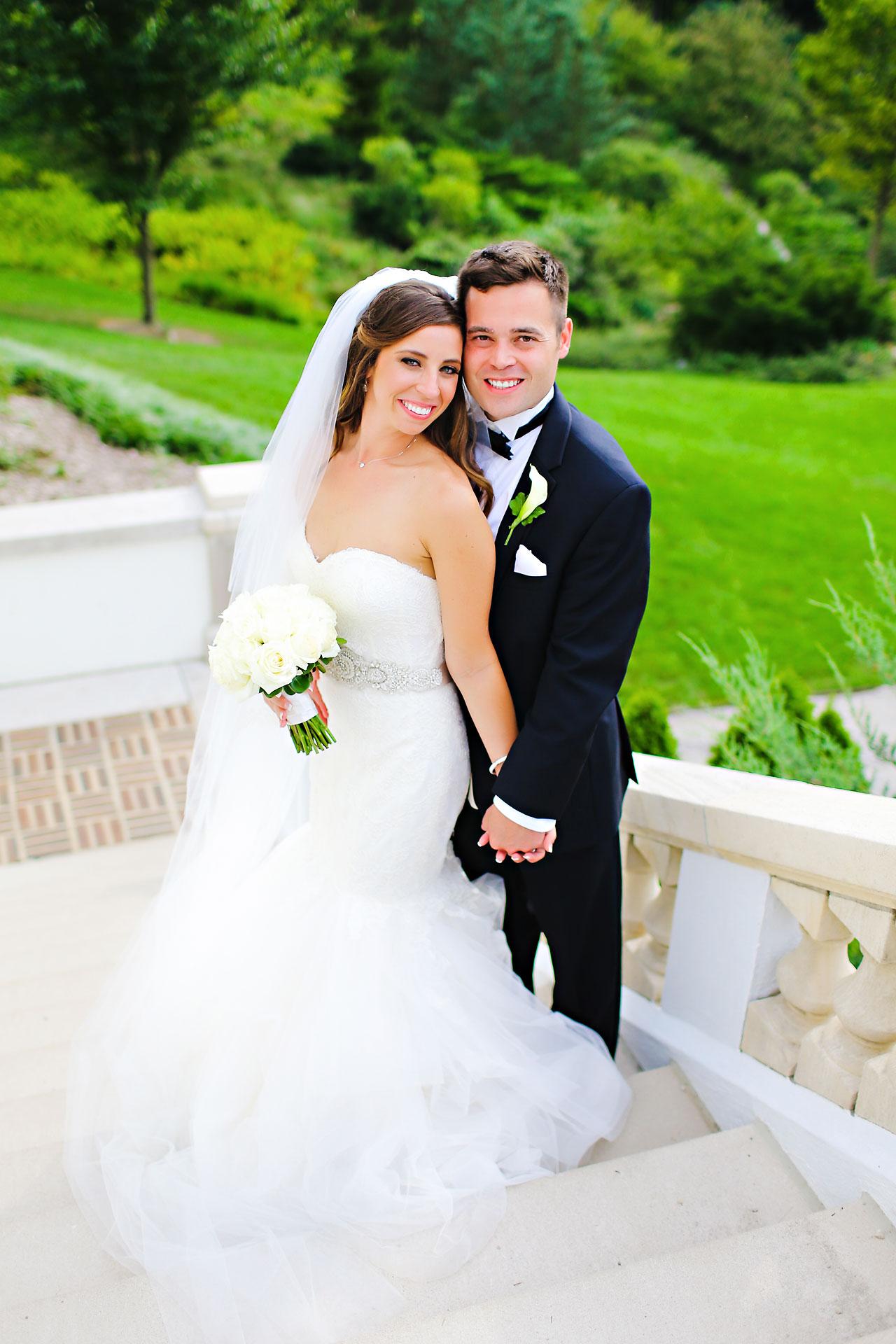 158 Vanessa Dustin Indiana Roof Ballroom Wedding