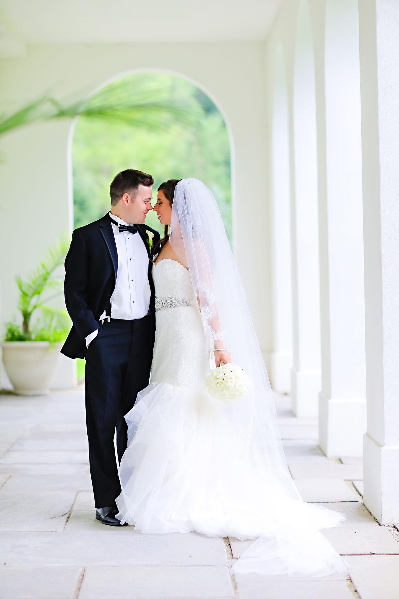 155 Vanessa Dustin Indiana Roof Ballroom Wedding