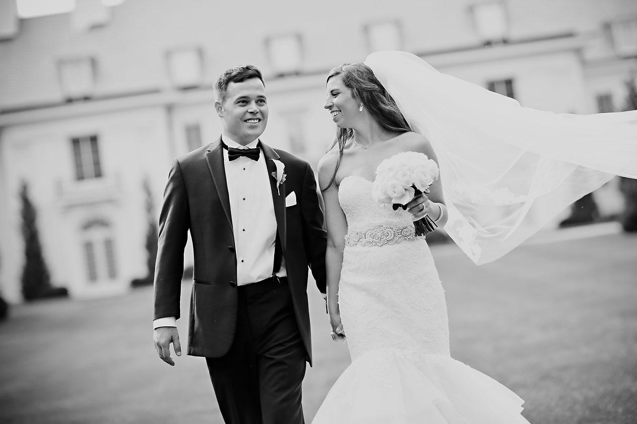 152 Vanessa Dustin Indiana Roof Ballroom Wedding