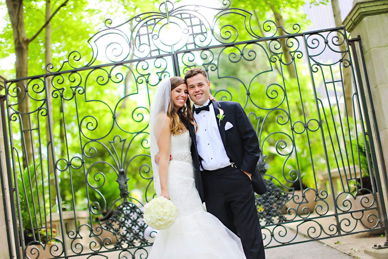 138 Vanessa Dustin Indiana Roof Ballroom Wedding
