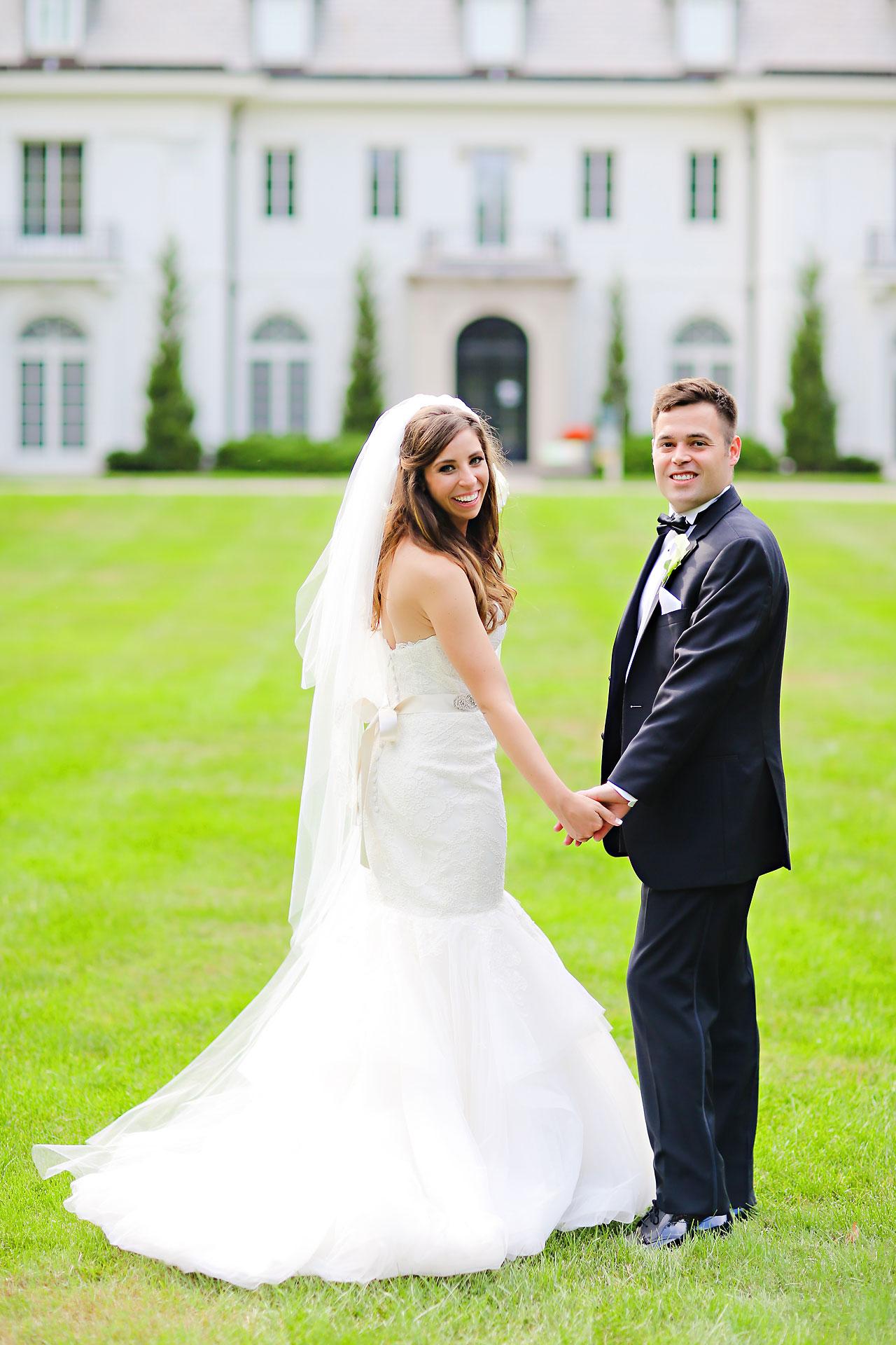 130 Vanessa Dustin Indiana Roof Ballroom Wedding