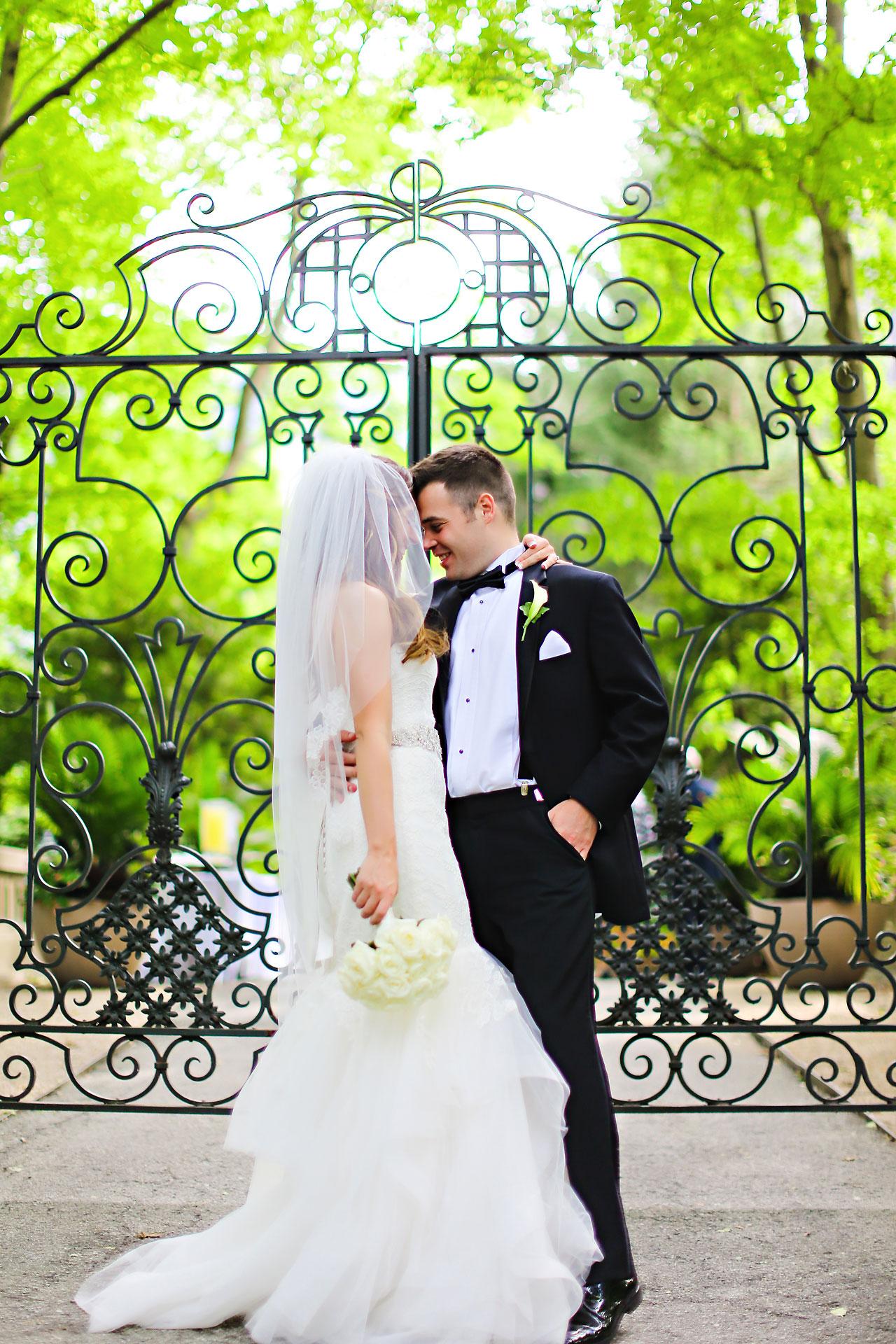 131 Vanessa Dustin Indiana Roof Ballroom Wedding