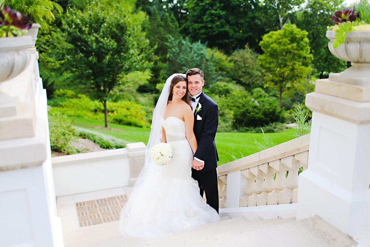 128 Vanessa Dustin Indiana Roof Ballroom Wedding