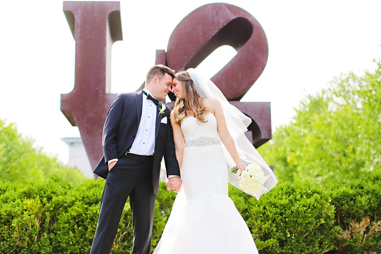 129 Vanessa Dustin Indiana Roof Ballroom Wedding