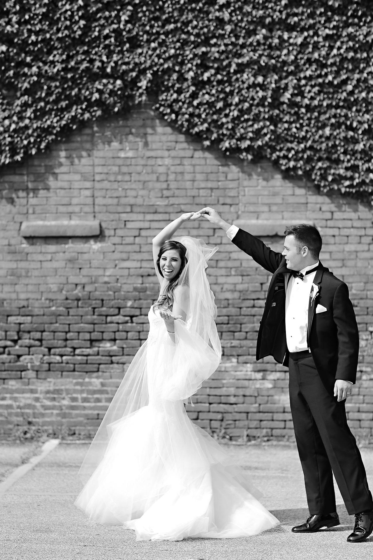 122 Vanessa Dustin Indiana Roof Ballroom Wedding