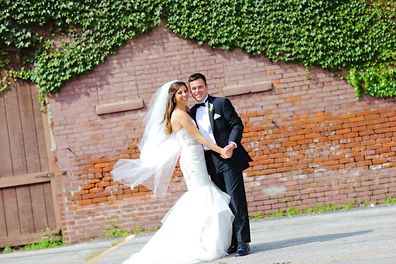 119 Vanessa Dustin Indiana Roof Ballroom Wedding