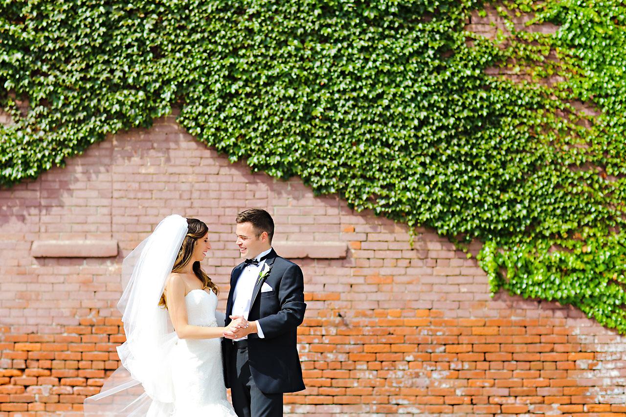 117 Vanessa Dustin Indiana Roof Ballroom Wedding