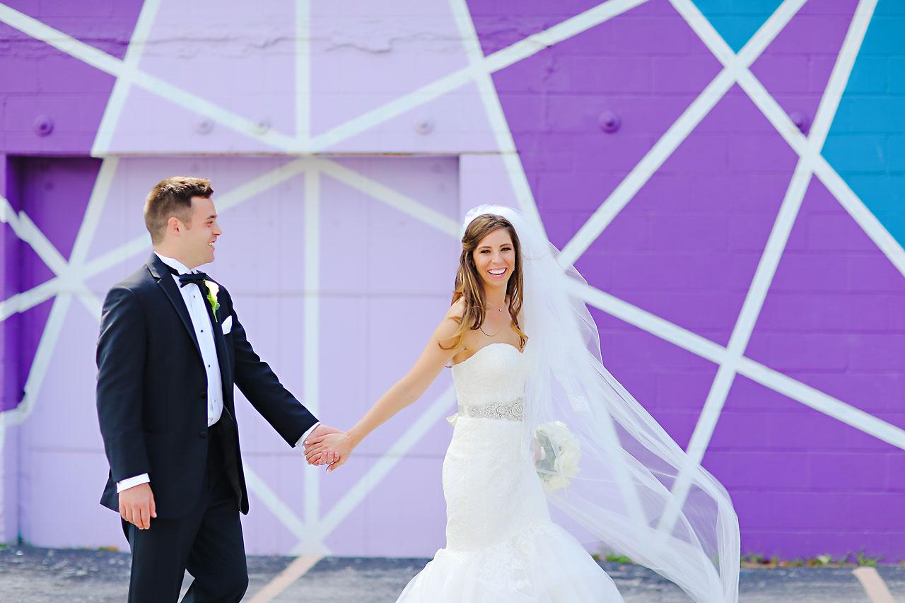 111 Vanessa Dustin Indiana Roof Ballroom Wedding